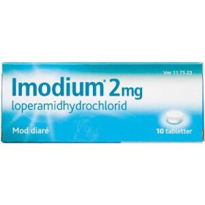Imodium Tabletter 2MG 10 stk