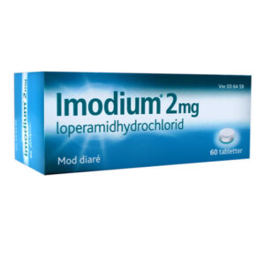Imodium Tabletter 2MG 60 stk