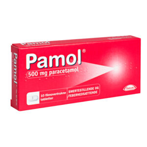 Pamol 500 mg - 10 tabletter