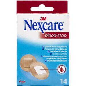 3M Nexcare Blood-Stop Runde Plastre 14 stk