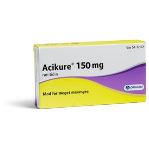 Acikure - 150 mg - 10 Tabletter