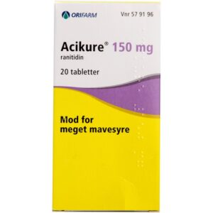 Acikure - 150 mg - 20 Tabletter