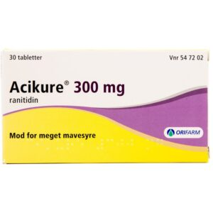 Acikure - 300 mg - 30 Tabletter