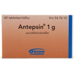 Antepsin - 1 Gram - 60 Tabletter
