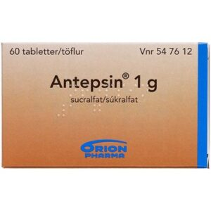Antepsin 60 stk Tabletter