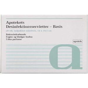 Apotekets Desinfektionsservietter 20 stk