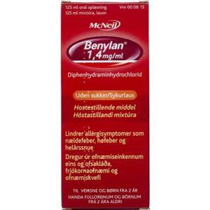 Benylan 125 ml Oral opløsning