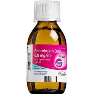 "Bromhexin ""DAK"" 150 ml Oral opløsning"
