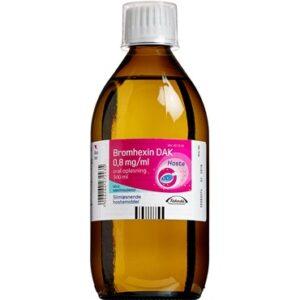 "Bromhexin ""DAK"" 500 ml Oral opløsning"
