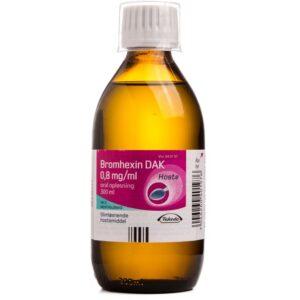 Bromhexin Opløsning - 0.8 mg/ml - 300 ml
