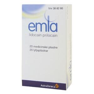 Emla plaster - 20 stk