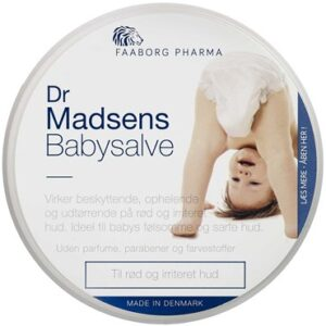 Faaborg Pharma Madsens baby salve uden borsyre 100 ml