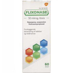 Flixonase 60 dosis Næsespray, suspension