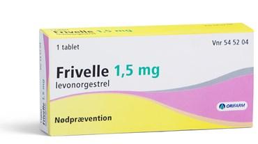 Frivelle 1 stk Tabletter