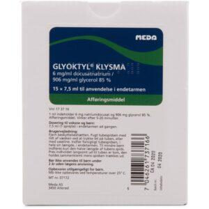 Glyoktyl Klysma - 15x7.5 ml