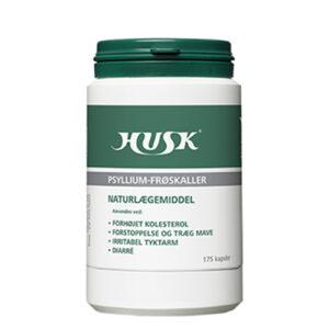 HUSK Psyllium-frøskaller (175 kap)