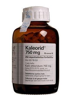 Kaleorid 250 stk Depottabletter