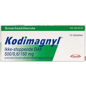 Kodimagnyl Ikke-stoppende DAK 10 stk Filmovertrukne tabletter