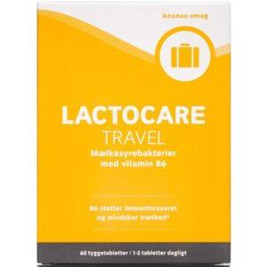 Lactocare travel kapsler 60 stk