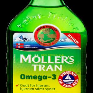 Møllers Tran m. frugtsmag (250 ml)