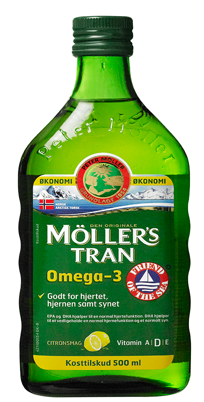 Møllers Tran med Citrussmag (500 ml)