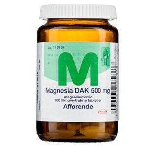 gravid forstoppelse magnesium