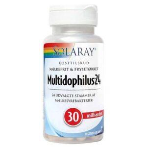 Multidophilus 24 fra Solaray - 60 kapsler