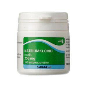 Natriumklorid 250 mg - 100 tabl