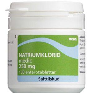 "Natriumklorid ""Medic"" 250 mg 100 stk"