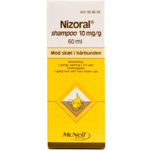 Nizoral Skælshampoo - 1 % - 60 ml