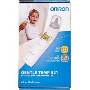 Omron Gentle Temp 521 Øretermometer Medicinsk udstyr 1 stk