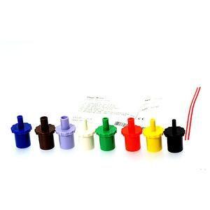 PEP modstande 1,5-6,0 mm - 8 stk assorteret