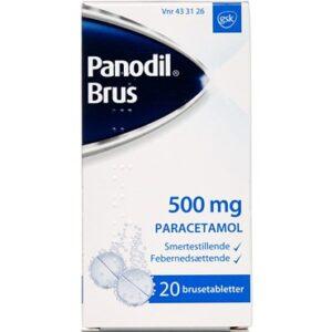 Panodil Brus 20 stk Brusetabletter