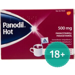 Panodil Hot - 500 mg - 10 Brusetabletter