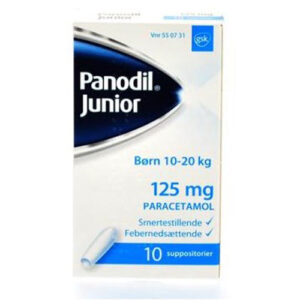 Panodil Junior 125 mg (10 stk)
