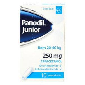 Panodil Junior 250 mg (10 stk)