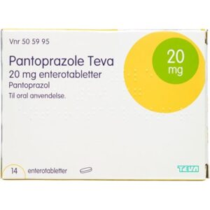 "Pantoprazole ""Teva"" 14 stk Enterotabletter"