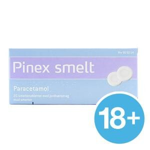 Pinex Smelt 250 mg - 20 smeltetabletter