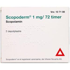 Scopoderm 2 stk Depotplastre