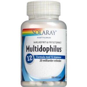 Solaray Multidophilus 12 Kosttilskud 100 stk