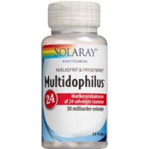 Solaray Multidophilus 24 Kosttilskud 60 stk
