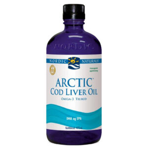 Torskelevertran m.appelsin Cod liver oil 474 ml.