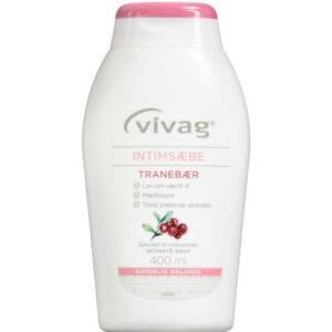 Vivag intimsæbe med tranebær 400 ml
