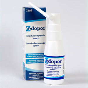 Zedopor® Snorkedæmpende spray (75 ml)