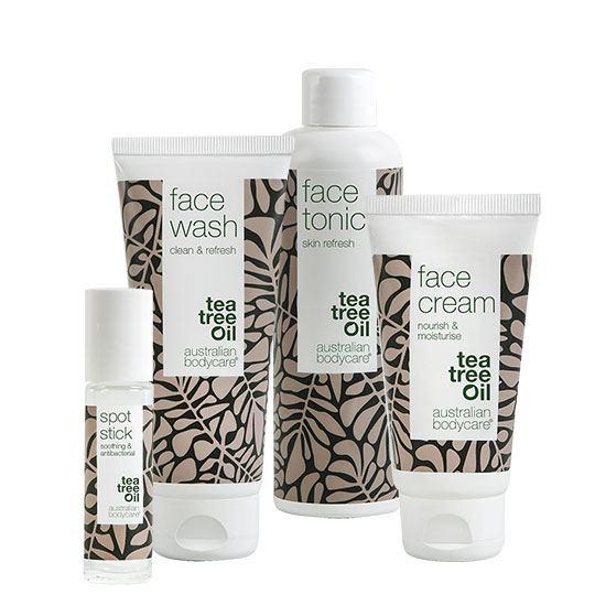 face serien - Tea Tree Oil mod bumser og uren hud