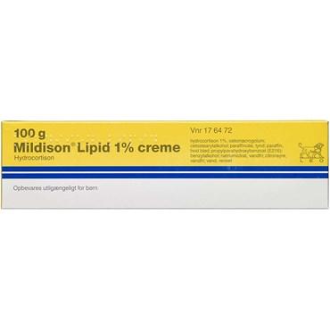 Mildison Lipid 100 gram creme fra LEO Pharma