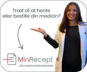 MinRecept.dk leverer medicin til døren